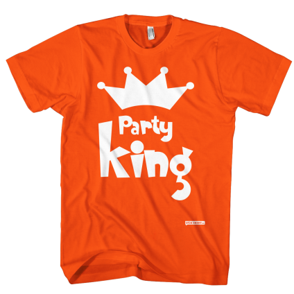 Party King Koningsdag shirt