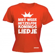 Koningslied dames shirt