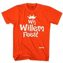 Wij Willem feest, koningsdag shirt